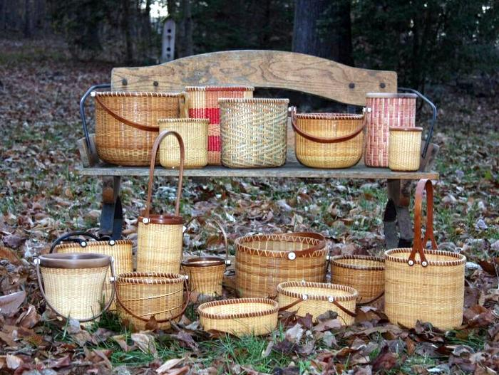 Magnolia Baskets Artwork and Weaving