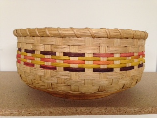 "Lazy Susan. 12 1/2 dia  6"" Indian corn accents is spins"
